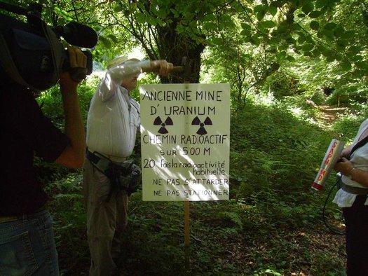 mines uranium morbihan