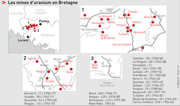 Le Télégramme. Source : irsn