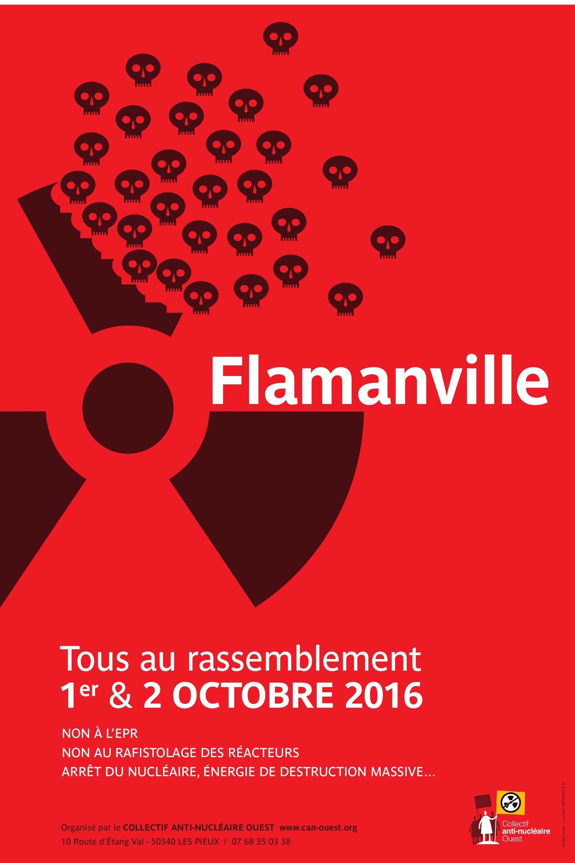 Rassemblement contre l'EPR et le «Grand Rafistolage» des vieux réacteurs @ Siouville-Hague | Normandie | France