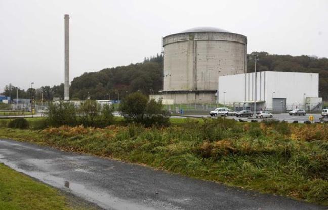 La centrale nucléaire de Brennilis, en Bretagne. - SIPA